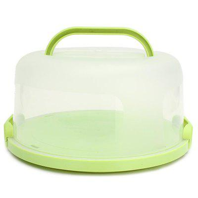 Thick Plastic Buckle Birthday Portable Baking Box