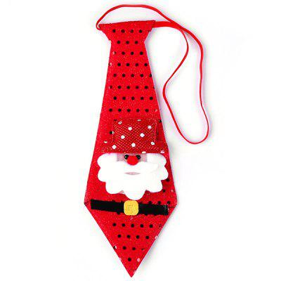 FashionChristmas Decoration Gift Sequined Tie