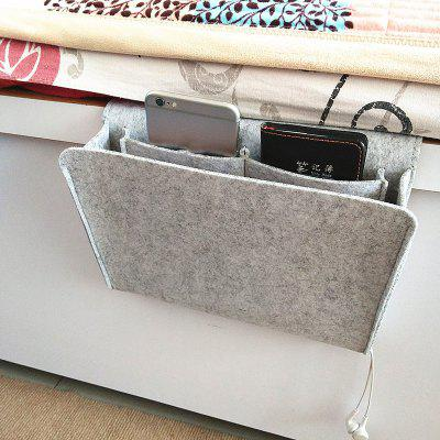 HL00033 Felt Bedside Sofa Hanging Storage Bag
