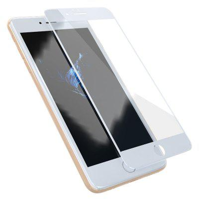 ZK Xuan Screen Series 3D Soft Edge White Tempered Glass Screen Protector for iPhone 6 ​​Plus