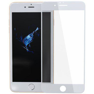 ZK Xuan Screen Series 3D Soft Edge White Tempered Glass Screen Protector for iPhone 6