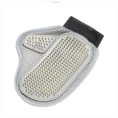 Stainless Steel Needle Pet Bath Gloves