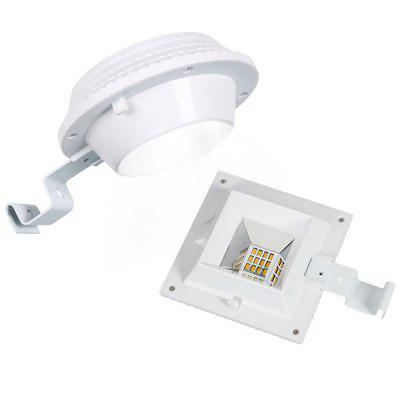 Round Solar Outdoor Waterproof Lighting Light Control Roof Wall Lamp
