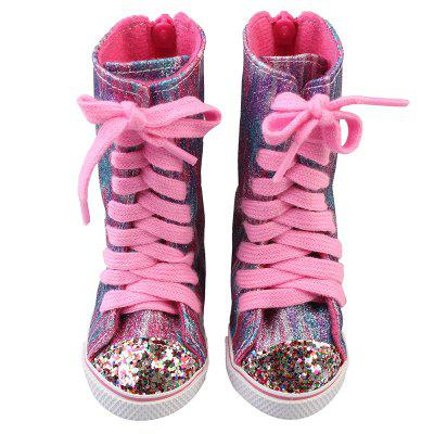 Fashion Boots for 18-inch American Girl Simulation Rebirth Doll