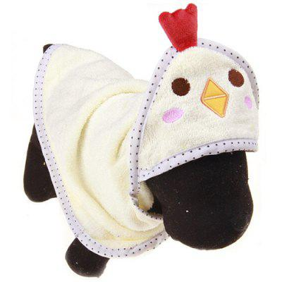 Peignoir absorbant animal mignon