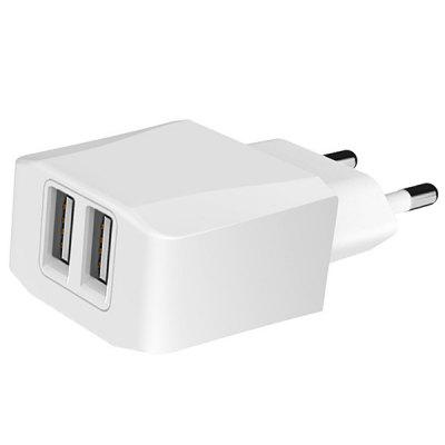 5V 2.1A Dual USB Mobile Phone Tablet Charger