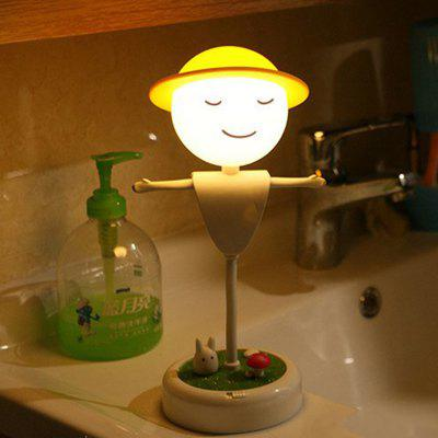 Rechargeable Warm White LED Scarecrow Bedside Night Light