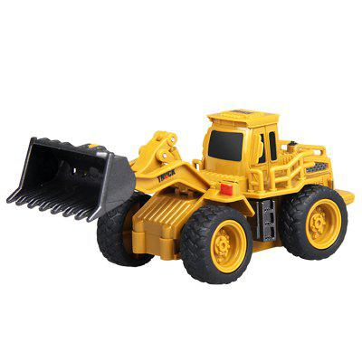 Remote Control Mini Engineering Bulldozer Random Color