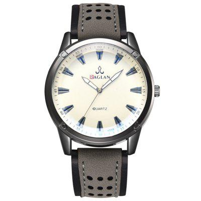 Trend Men's Exquisite Scale Personality Quartz Watch