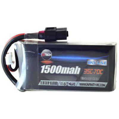 XT60  Infinity 3S 11.1V 1500mAh 35C Lipo Battery for RC Drone FPV Racing Multi Rotor