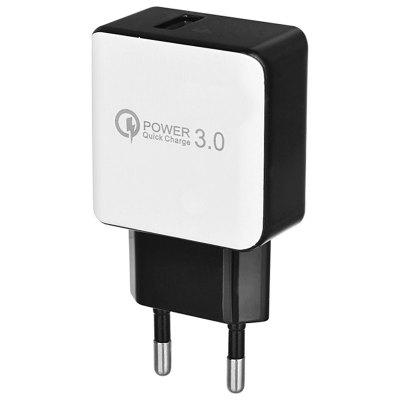 QC 3.0 5V/3A Quick Charger EU Plug USB AC Charger / USB Wall Charger