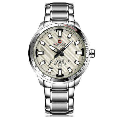 NAVIFORCE Luxury Brand Men Stainless Steel Wrist Watches