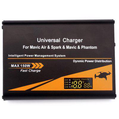 Universal HUB AND Fast Battery Charger for Mavic Air Pro Spark Phantom