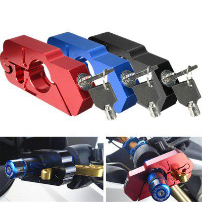 CNC Aluminum Alloy Handlebar Safety Lock for Bicycles Motorcycles
