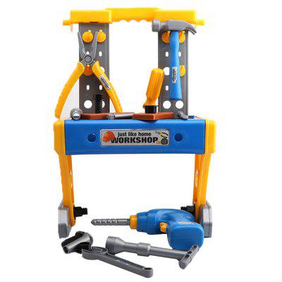 Simulation Electric Drill Disassembly Tool Repair Kit Toy for Children
