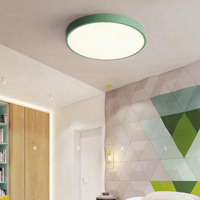 30cm 18W Modern Minimalist LED Ceiling Lamp for Bedroom Study Room Living Room