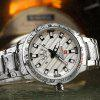 NAVIFORCE Luxury Brand Men Stainless Steel Wrist Watches - WHITE