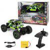 S - 001 4 Wheel Steering Climber RC Car 2.4G Independent Absorber 130 Motor Crawler - GREEN