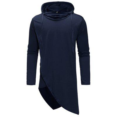 Men Hooded Casual Fashion Large Size Hoodie