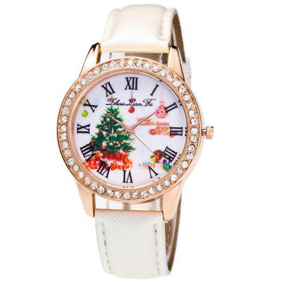 Christmas Gift Pattern Quartz Watch