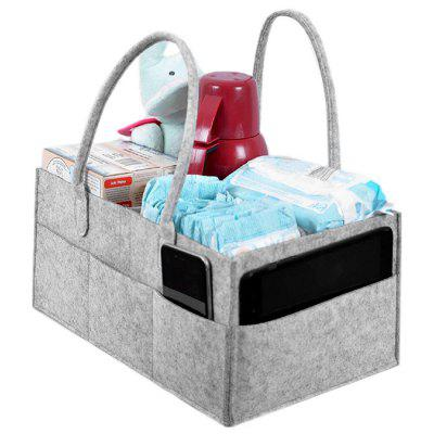 Felt Maternity Diaper Laundry Cosmetic Storage Bag