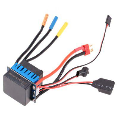 1/10 RC Off-road Vehicle 3650 4370KV 4P Non-inductive Brush-less Motor 45A Brush-less ESC Set