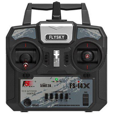 FLYSKY FS - i4X with A6 Receiver 2.4G Mode Four-channel for Fixed-wing Helicopter