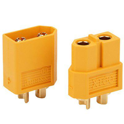 300X XT60 Male Female Bullet Connector Plug for RC Battery