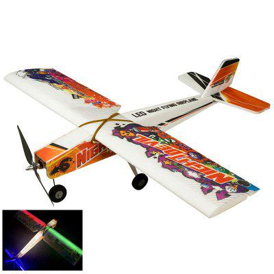 EPP 3D EPP Night Flight Flying RC Airplane 1000mm Wingspan Pre-installed LED System Aircraft evans epp hruv1 r