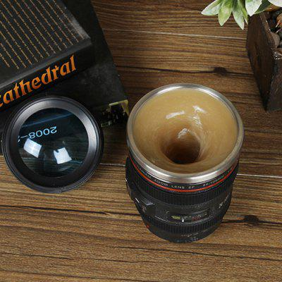 Simulation SLR Camera Sixth Generation Lens Electric Coffee Cup
