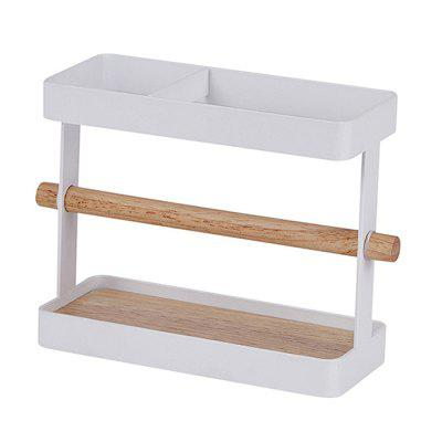 ZWJ006 Solid Wood Kitchen Storage Rack