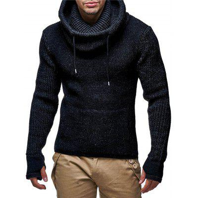 Thicker Turtleneck Christmas Sweater Coat for Men