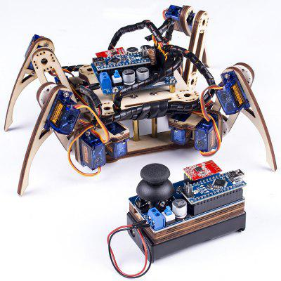 SUNFOUNDER V2.0 Remote Control Crawling Quadruped Robot Model