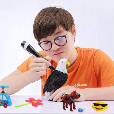 Low Temperature 3D Printing Pen Children Drawing Pen with LCD Display