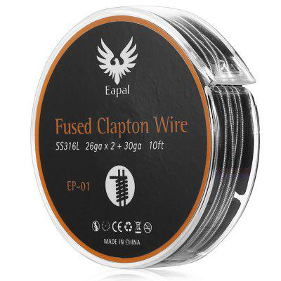 Eapal EP - 01 26ga Fused Clapton Wire 10ft