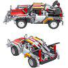 2.4G Electric Remote Control Building Blocks Sports Car Two In One Assembling Building Blocks Children DIY Educational Toys - MULTI-A