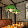 YWXLight Retro Nordic Industrial Style Pendant Light for Restaurant Aisle - WARM WHITE