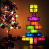 LED Night Light Free Stitching Children DIY Russian Cube Development Intelligence Toy - MULTI