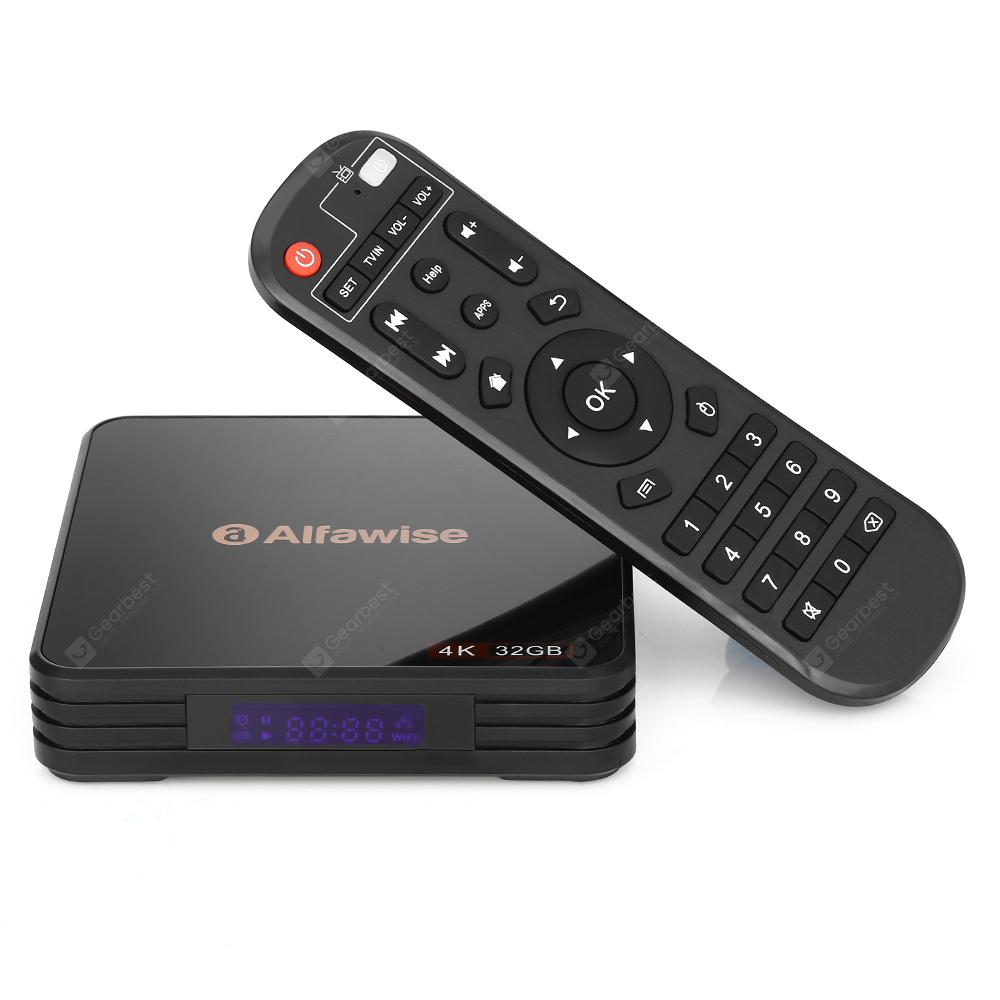 Alfawise A5X TV Box - BLACK