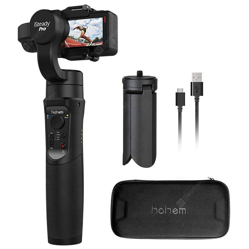 Hohem iSteady Pro 3-axis Handheld Gimbal Stabilizer 12h Run Time - Black