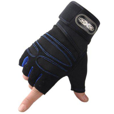 YJM1053 Men's Sports Fitness Outdoor Skid Gloves