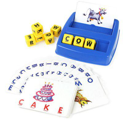 Children's Fun Learning English Look At The Picture Letters Toy