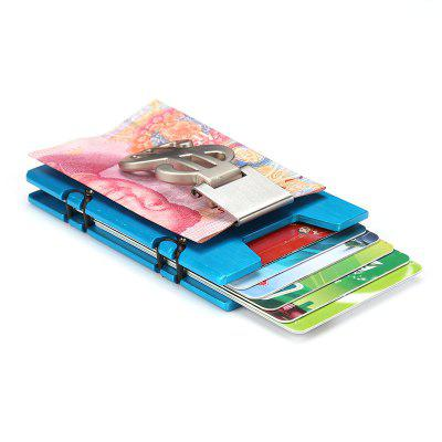 Box Anti Degaussing Automatic Bank Card Holder