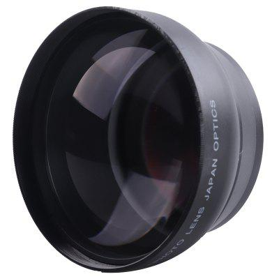 2458T 58mm 2.2X Additional Telephoto Lens for Canon 77D / 350D / 400D / 450D / 500D / 1000D / 550D / 600D / 1100D 18 - 55MM Lens