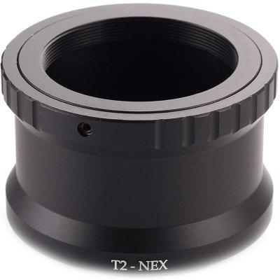 T2-NEX Telephoto Mirror Lens Adapter Ring for Sony NEX E-Mount Cameras to Attach T2 / T Mount Lens