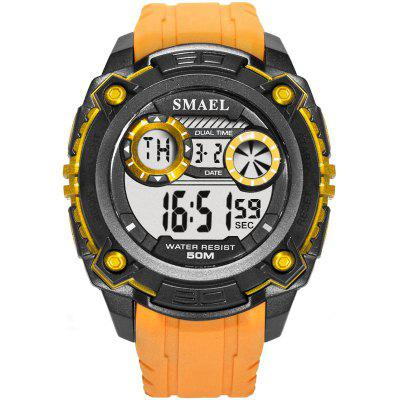 SMAEL 1390 Sports Waterproof and Shockproof Single Display Electronic Watch