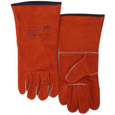 AP-2102 Leather Wear-resistant Long High Temperature Resistance Gloves