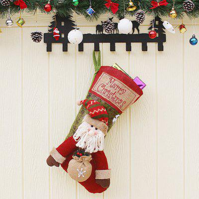 Christmas Decorations Children's Large Stockings Shopping Mall Window Hangings Gifts