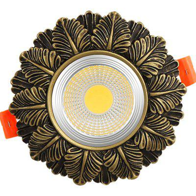 LED Resin Downlight 7W Lumină albă de plafon alb