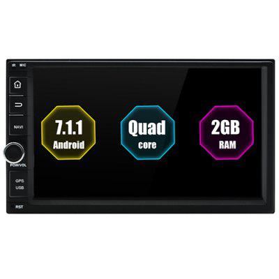 Junsun T362B 2 Din Car DVD Android 7.1 Radio Multimedia Player 2GB + 32GB for Nissan Wifi 3G GPS Navigation Universal Auto Stereo Image